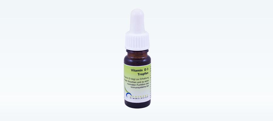 NEU: Vitamin D3 Tropfen