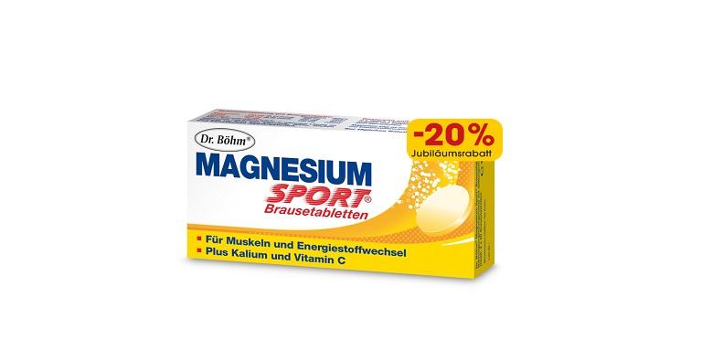 Dr. Böhm® Magnesium Sport® Plus Kalium und Vitamin C