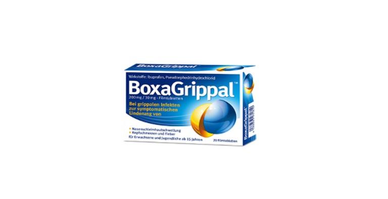 BoxaGrippal®. Die intelligente Kombination bei Erkältung.