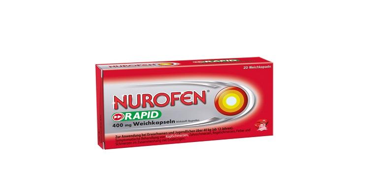 NUROFEN® Rapid 400mg Weichkapseln